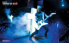 Picture music, the film, crosses, scene, music, concert, Rock, electric guitar, Rock, singer, Metallica, movie, the …