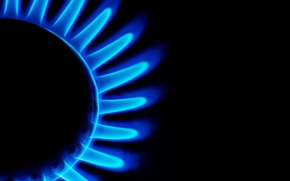 Picture gas, combustion, burner
