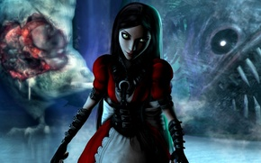 Picture look, girl, dress, alice, madness returns, Alice: Madness Returns