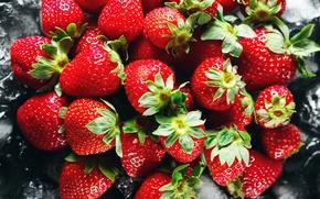 Wallpaper berries, strawberry, berries, ripe, red, fresh, strawberry