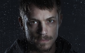 Picture portrait, actor, Joel Kinnaman