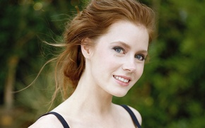 Picture eyes, look, girl, face, smile, hair, actress, beautiful, Amy Adams