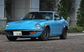 Picture Datsun, 260Z, Sports, Fairlady Z, Manufacturer, Nissan Motors, Nissan S30, Hatchback, Full face