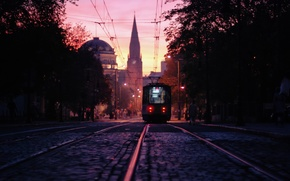 Picture the city, Poland, tram, Poznan
