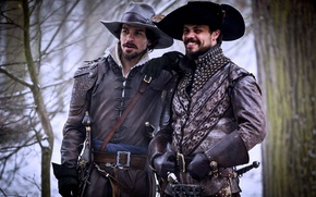 Picture The series, Aramis, Porthos, The Musketeers, The Musketeers, Howard Charles, Santiago Cabrera, Aramis, Porthos