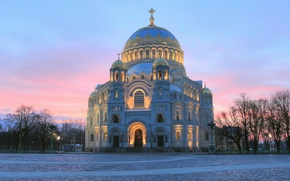Picture Russia, Naval Cathedral of St. Nicholas, Kronstadt