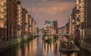 Picture night, Germany, Hamburg