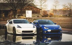 Picture Subaru, Nissan, 370z, BRZ, JDM