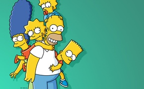 Wallpaper the simpsons, the simpsons, homer simpson