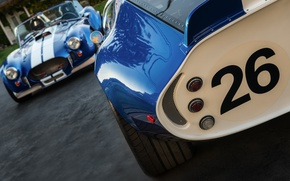 Picture classic, legend, cars, blue, 1965, 1967, sports, racing, Shelby Cobra, Daytona Coupe