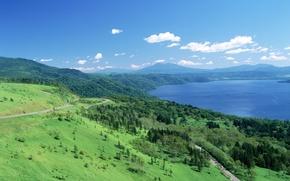 Picture landscape, Japan, Hokkaido