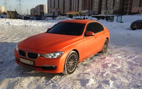 Picture white, BMW, дорога5.