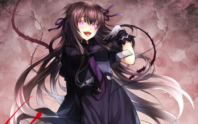 Picture girl, anime, art, Easy, Drifters