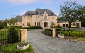 Picture United States, Texas, luxury villa, French Provincial Home, Plano