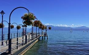 Picture lake, Marina, Switzerland, Switzerland, Canton of Vaud, Vaud, Morges
