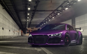 Picture Audi, Purple, Tuning, V10, Regula
