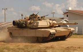 Picture Abrams, Abrams, armor, tank, American