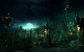 Wallpaper the game, Arkham Asylum, lunatic asylum