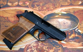 Picture gun, weapons, Walther, self-loading, PPK/S