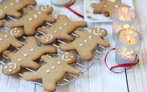 Picture food, candles, New Year, cookies, Christmas, christmas, Christmas, food, cakes, holidays, New Year, cookies, candles, ...