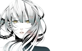 Picture Anime, Beauty, Nier, Game, Face, Kaine