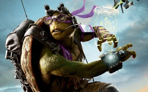 Wallpaper fantasy, Donatello, Teenage Mutant Ninja Turtles: Out of the Shadows, Teenage mutant ninja turtles 2