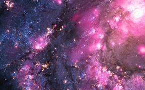 Picture nebula, stars, cosmos, galaxy
