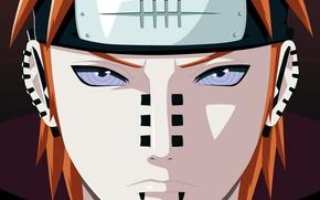 Picture Naruto, man, face, sharingan, evil, Akatsuki, piercing, Yahiko, Nagato, Naruto Shippuden, doujutsu, hitaiate, nukenin, rinegan, …
