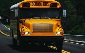 Picture school, Thomas, bus, FS-65