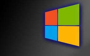 Picture green, windows, logo, yellow, blue, orange