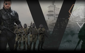 Picture Metal Gear, Metal Gear Solid, Metal Gear Solid V: The Phantom Pain, Venom Snake, Diamond …