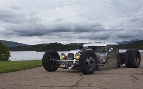 Picture hot, chrome, rod, Cutworm, Dually