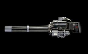 Picture weapons, background, machine gun, multicore, M134 Minigun