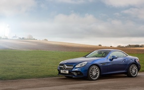 Picture Mercedes-Benz, Roadster, convertible, Mercedes, AMG, R172, SLC-Class