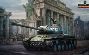 Picture Tank, The is-2, Tank, World of Tanks