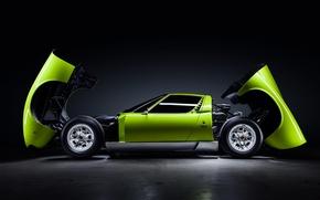 Picture Lamborghini, Green, Miura, Lamborghini Miura, by JeremyCliff Photography