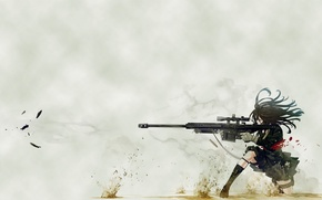 Picture anime, Weapons, sniper