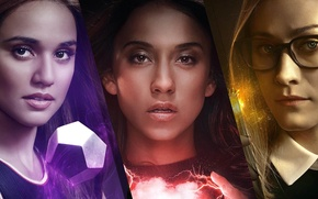 Picture girls, magic, The series, actors, Movies, Wizards, The Magicians