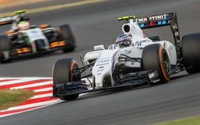 Picture Valtteri Bottas, Williams-Mercedes