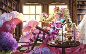 Picture anime, art, Beatrice, mafuyu, Re: Zero kara hajime chip isek or Seikatsu