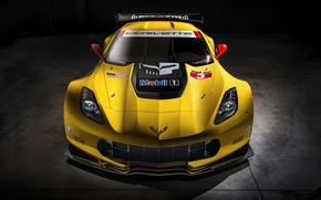 Picture Chevrolet Corvette, Corvette, rechange, race car, C7-R
