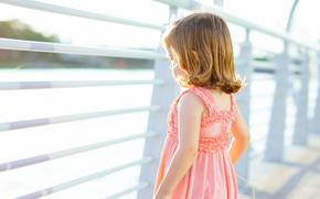 Picture child, dress, girl
