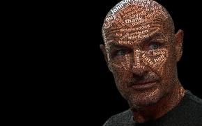 Picture Lost, Terry O'Quinn, Typography, John Locke