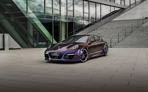 Picture Porsche, area, ladder, Panamera, Grand, TechArt