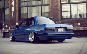 Picture BMW, E30, Clean, Stance, Low, BellyScrapers