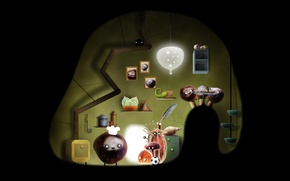 Picture the game, Botanicula, Amanita Design, Botany