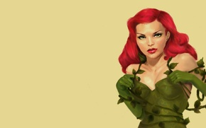 Picture poison ivy, Dr. Pamela Lillian Isley, Poison ivy