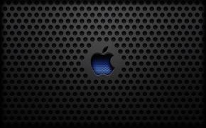 Picture steel, apple, Apple, texture, mac