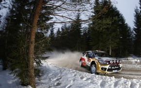 Picture Rally Sweden, DS3, WRC, Mads Ostberg