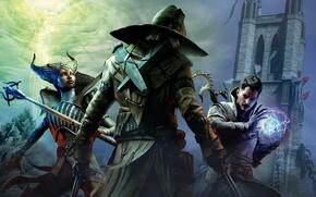 Picture BioWare, Dragon Age, Inquisition, Morrigan, associates